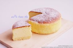 Souffle cheese cake : ony 3 ingredient