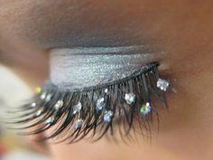 Eyelash bling