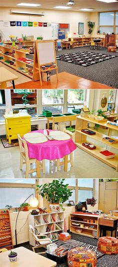 A Comfy, Lived-In Learning Space | 30 Epic Examples Of Inspirational Classroom Décor #montessori