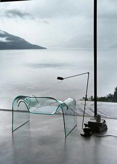 Design Studio, Deco Design, Glass Design, Design Design, House Design, Glass Chair, Modern Furniture, Furniture Design, Glass Furniture