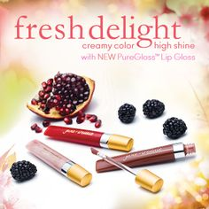 Fresh Delight PureGloss Lip Gloss, I love this lip glosses they last on for a long time!