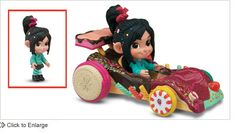 This will be MY pinewood derby car! Vanellope Von Schweetz