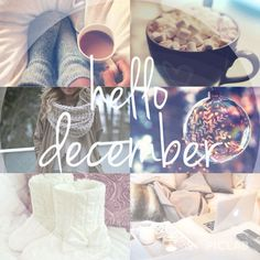Discover and share Hello December Quotes With Beautiful. Explore our collection of motivational and famous quotes by authors you know and love. Hello December Pictures, Hello December Tumblr, Hello November, Happy December, Hello Winter, I Love Winter, Christmas Mood, Noel Christmas, New Month Wishes