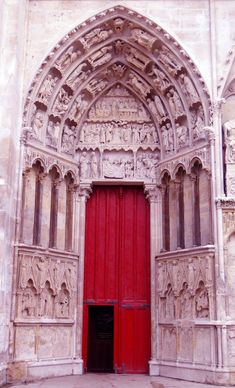 Red door ~ gorgeous!  Avignon, France.  From www.lynneknowlton.com blogspot