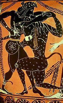 Etruscan art: Minotaur