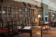 """The Long Room at Blickling Hall Norfolk, England."