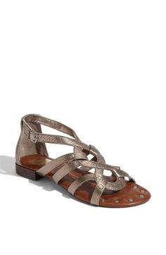 greek goddess warrior sandals. and in silver, how wonderful