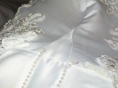 Sew Kansas Wedding Dress Alterations How To Shorten A With Horsehair Braid