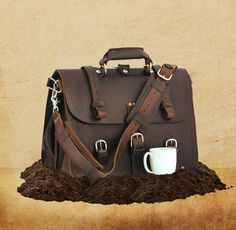 Saddleback Leather Classic Briefcase - Best gear and gadgets for men. The place to find cool stuff for guys.