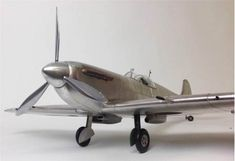 Vintage Flights Plane Model 1936 Spitfire Fighter