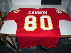 f1b609fb2 Kansas City Chiefs Billy Cannon red custom throwback jersey 40 M sz mens   fashion   · Mens Clothing ...