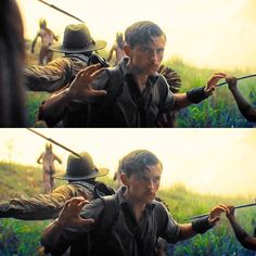 Hihi mustache Tom  The Lost City of Z! Excited to see this movie!!