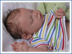 Reborn Baby Doll. Cute baby boy..... at least im pretty sure it is a boy.