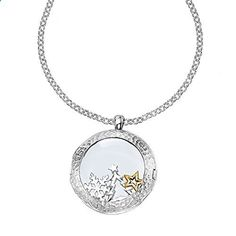 DOWER  HALL Cherish Sterling Silver 24mm Composable Locket on 46cm Belcher Chain with Christmas Treasures Cherish Sterling Composable Christmas Treasures is ranked high among the most selling products online in Jewelry category in UK. Click below to see its Availability and Price in YOUR country.