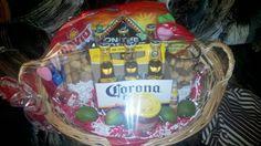 Valentine Day gift basket for the Corona Lover, distinctivedesign..., R.P. Ramirez