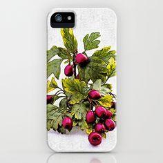 Rowan (Sorbus aucuparia L., Pyrus aucuparia Syn, Gaertner)2 iPhone & iPod Case by Karl-Heinz Lüpke - $35.00