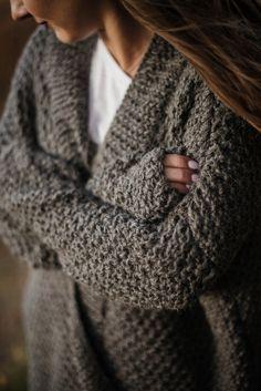 Klasyczny Sweter Ryż - Szydlownia - Kardigany