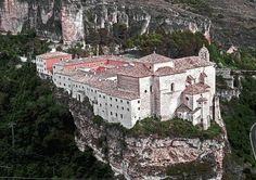 Cuenca's Parador, the old monastery of San Pablo, Cuenca, Castilla la Mancha - Spain Best Beaches In Portugal, Portugal Vacation, Hotels Portugal, Places In Portugal, Places In Spain, Visit Portugal, Portugal Travel, Spain And Portugal, Spain Travel