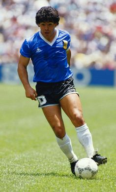Maradona FIFA World Cup in 1986 México City