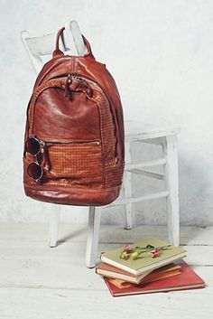 Campomaggi Womens Linea Agave Backpack