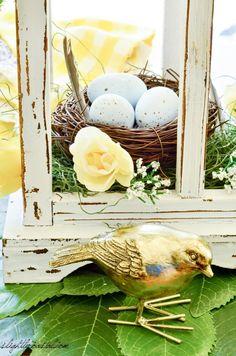 Easter Tablescape 2017 – Slightly Coastal