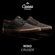 'The Wino Cruiser - now equipped with an added flat Triangle Tread bottom and new low profile design. #MadeInEmerica #Emerica