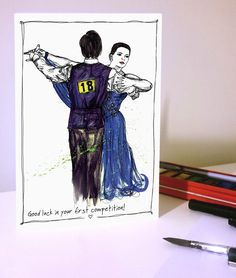 Beginner Competition Ballroom Dancing, Batman, Superhero, Trending Outfits, Unique Jewelry, Handmade Gifts, Competition, Cards, Fictional Characters