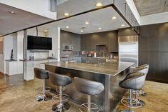 Kitchen: top-floor, corner penthouse unit in The Pomeroy