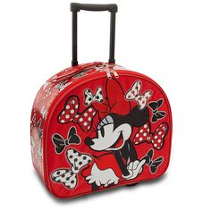 Rolling Minnie Mouse Luggage $35