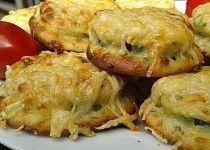 Cuketa v sýrovém těstíčku - pečená v troubě