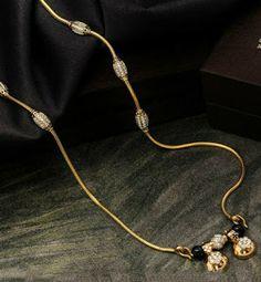 Gold Chain Design, Gold Bangles Design, Gold Jewellery Design, Gold Jewelry, Diamond Mangalsutra, Gold Mangalsutra Designs, Rainy Wallpaper, Nose Ring Jewelry, Black Beats
