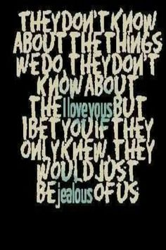 They dont know about us <3 by One Direction