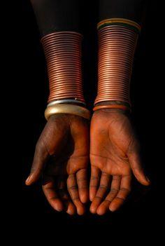 bracelet of a  Surma woman