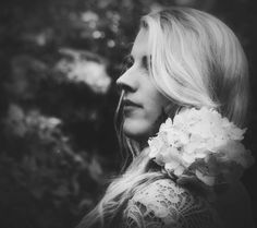 Flowers in her hair by Anne Costello on 500px
