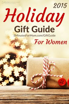 Holiday Gift Guide for Women - Christmas gift ideas for all the women on your Christmas shopping list...
