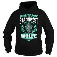 I Love WOLFE WOLFEYEAR WOLFEBIRTHDAY WOLFEHOODIE WOLFE NAME WOLFEHOODIES  TSHIRT FOR YOU Shirts & Tees