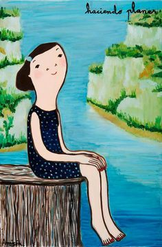 Painting For Kids, Art For Kids, Children Painting, Eva Armisen, Disney Characters, Fictional Characters, Girly, Fine Art, Disney Princess