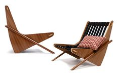 Boomerang Chair by Richard Neutra 1942