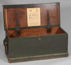 985. A Rare Early Sea Chest Circa 1790-1820 - May 2012 - ASPIRE AUCTIONS