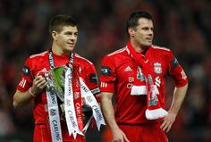 Carling Cup Final: Stevie and Carra