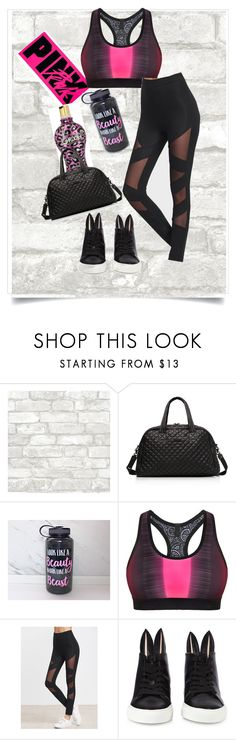 """Gym.tan.fabulous💖GTF"" by theycallmemandy ❤ liked on Polyvore featuring M Z Wallace, Monreal and Minna Parikka"