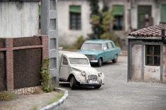 TrainScape: Paso a nivel de Peñuelas 11º Diorama, Miniature, Railroad Photography, Fotografia, Model Train, Dioramas, Miniatures