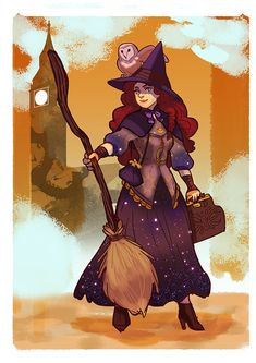 me as a witch! for the witchsona on tumblr by audreymolinatti.deviantart.com on @deviantART