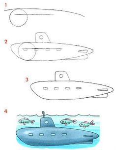 Cómo dibujar un buque                                                                                                                                                                                 Más