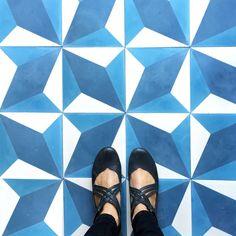 Our diamond twist cement tile. Let's do the twist! #cletile