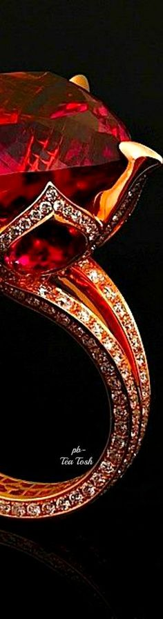 Ruby & Diamonds Ring