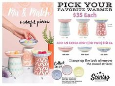 Scentsy's NEW Hip, Pop, and Zag wax warmers just SCREAM spring with their mix & match dishes, unique shape and the cool, on trend colors and patterns! NEW for spring and summer 2017 Scentsy, Nonalcoholic Punch Recipe, Best Party Food, Wax Warmers, Boy Decor, Party Time, Dishes, Hip Pop, Independent Consultant