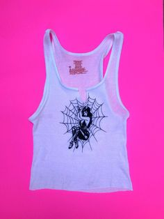 Details about  /Power Flower womens size S M stretch fit sleeveless t shirt top