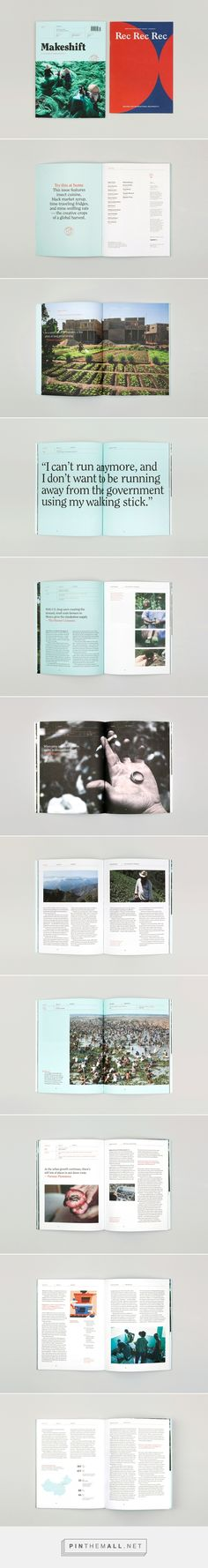 Makeshift 14: Harvest on Behance... - a grouped images picture - Pin Them All