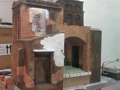 ... el Belén de la Parroquia madrileña de Nuestra Señora del Carmen y San Luis (C/ Carmen, nº 10). Con los trabajos realizados en la prime...